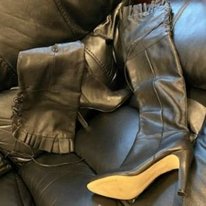 Kelsi Dagger Leather Boots